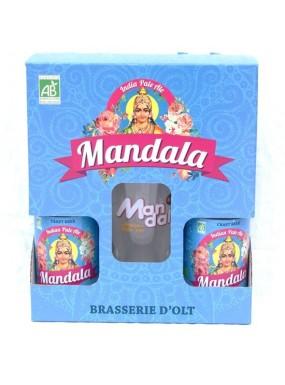 image: Bi?re Bio Mandala i.p.a Duo + 1 Verre