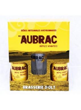 image: Bi?re de l'Aubrac Blonde Duo + 1 Verre