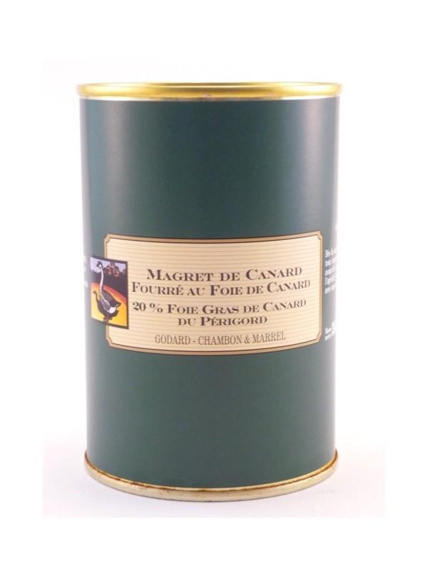 image: Magret fourr? au Foie Gras de Canard Entier 20%